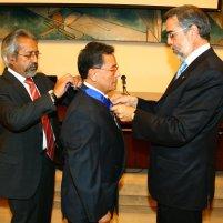 Prof. Toro with Doctor Navarro and Doctor Zolezzi